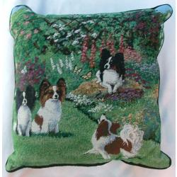 Papillon Tapestry Pillow