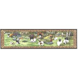 Papillon Tapestry Table Runner
