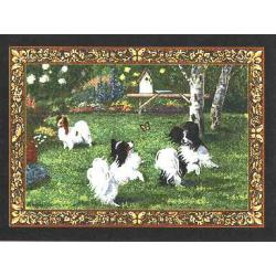 Papillon 3 Single Tapestry Placemat
