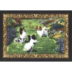 Papillon 4 Single Tapestry Placemat