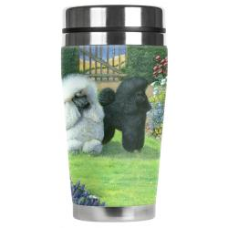 Poodle travel mug