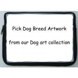 All Breed - Pick Dog Breed Artwork - Netbook Sleeve