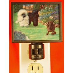 Poodle Picture Nightlight #4