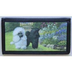 Poodle Picture Checkbook Cover #4