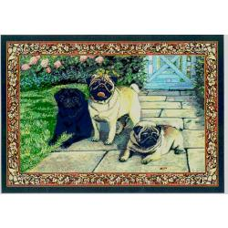Pug 1 Single Tapestry Placemat