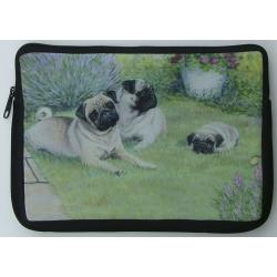 Pug Picture Netbook Sleeve #3