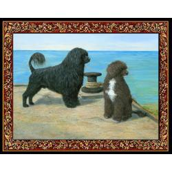 Portuguese Water Dog 1 Single Tapestry Placemat