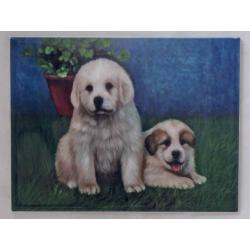 Great Pyrenees #4 6x8 tile