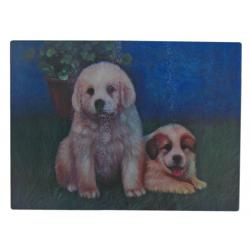 Great Pyrenees cutting board 4