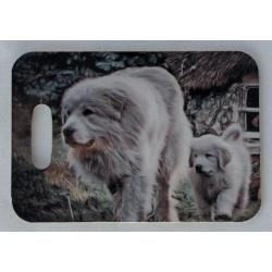 Great Pyrenees luggage tag 5