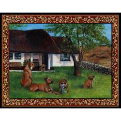 Rhodesian Ridgeback Tapestry Placemat #1 Single
