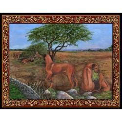 Rhodesian Ridgeback Tapestry Placemat #2 Single