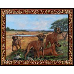 Rhodesian Ridgeback Tapestry Placemat #3 Single