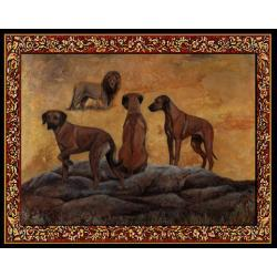 Rhodesian Ridgeback Tapestry Placemat #4 Single