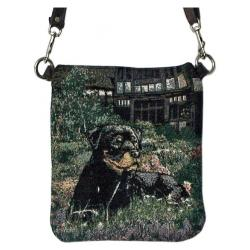 Rottie pocket purse bpb