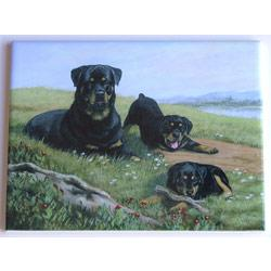 Rottweiler #3 - 6x8 Ceramic Picture Tile