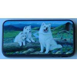 Samoyed Picture iPhone-4 Cover #2