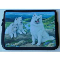 Samoyed Picture Netbook Sleeve #2