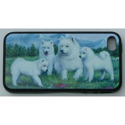 Samoyed Picture iPhone-4 Cover #3