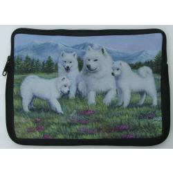 Samoyed Picture Netbook Sleeve #3