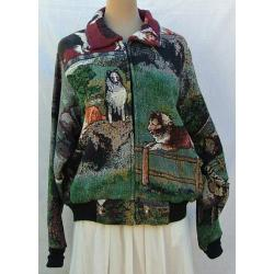 Sheltie Baseball Jacket 1A