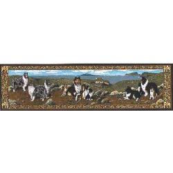 Sheltie Tapestry Table Runner