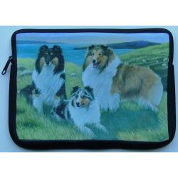 Sheltie Picture Netbook Sleeve #1