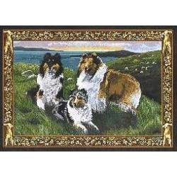 Sheltie 1 Single Tapestry Placemat