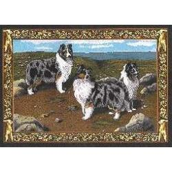 Sheltie 2 Single Tapestry Placemat
