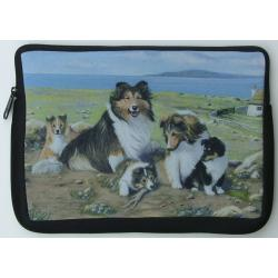 Sheltie Picture Netbook Sleeve #3