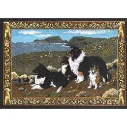 Sheltie 4 Single Tapestry Placemat