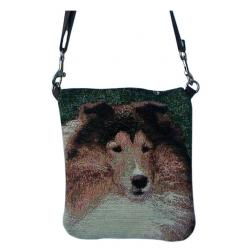 Sheltie pocket purse 2BPA