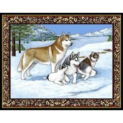 Siberian Husky 1 Single Tapestry Placemat