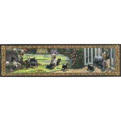 Silky Terrier TapestryTable Runner
