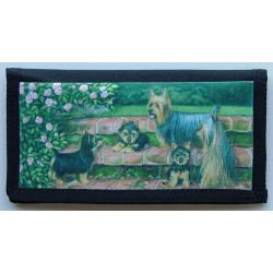 Silky Terrier Picture Checkbook Cover #1