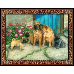 Shar Pei 1 Single Tapestry Placemat