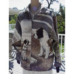Saint Bernard Short Coat 2A