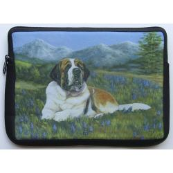 Saint Bernard Picture Netbook Sleeve #6