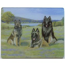Belgian Tervuren Tempered Glass Cutting Board #1