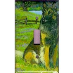 Belgian Tervuren 1A Single Light Switch Plate