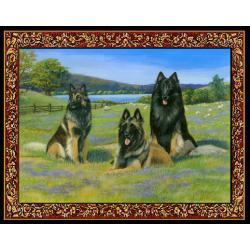 Belgian Tervuren Tapestry Placemat #1 - Single