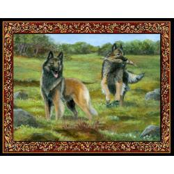 Belgian Tervuren Tapestry Placemat #2 - Single