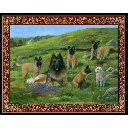Belgian Tervuren Tapestry Placemat #3 - Single