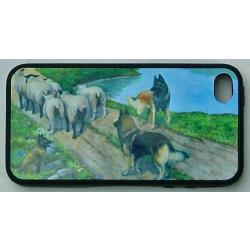 Belgian Tervuren Picture iPhone-4 Cover #4