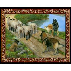 Belgian Tervuren Tapestry Placemat #4 - Single