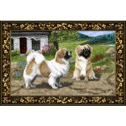 Tibetan Spaniel Tapestry Placemat #1 Single