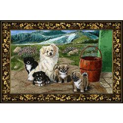 Tibetan Spaniel Tapestry Placemat #2 Single