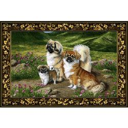 Tibetan Spaniel Tapestry Placemat #4 Single