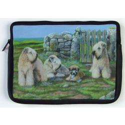 Wheaten Picture Netbook Sleeve #2