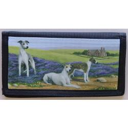 Whippet Picture Checkbook Cover #2